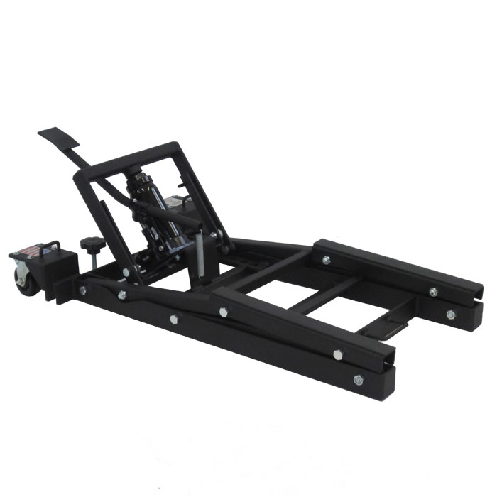 Js jacks motorcycle lift dirty biker products for How to jack up a motorcycle with a floor jack